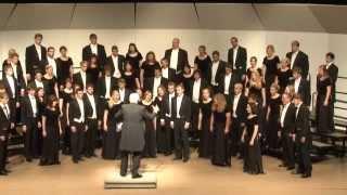 UW-Eau Claire Concert Choir - Alleluia - Ralph Manuel