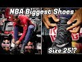 Your Favorite NBA Players Shoe Sizes