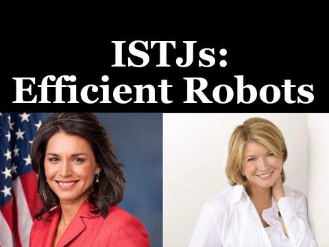 ISTJ: Efficient Robots 🤖