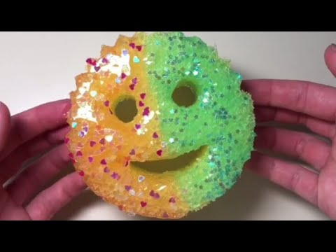 SATISFYING SLIME DADDY COMPILATION Sponge Slime  diySatisfying