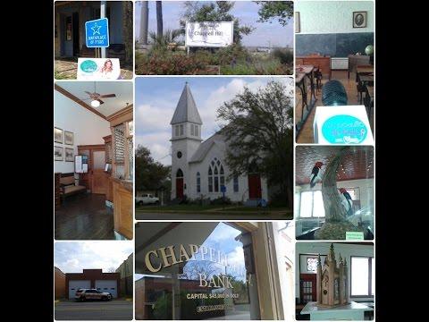 Chappell Hill, Texas  - Pueblo Historico y  El Mejor Lugar de Bluebonnets