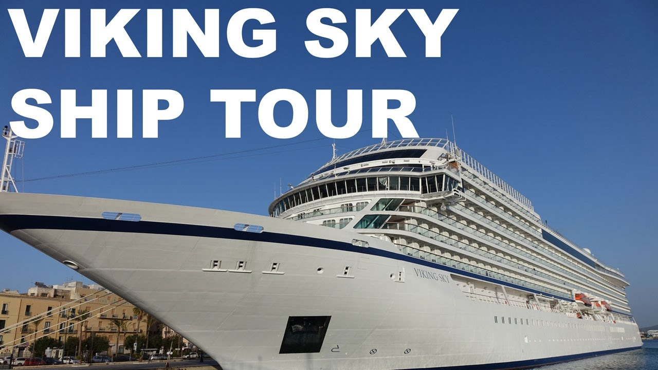Viking Sky Cruise Ship Tour