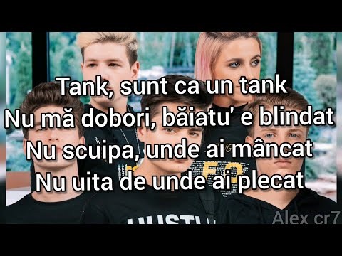 5GANG - TANK (VERSURI/LYRICS)