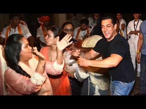 Salman Khan Ganpati Visarjan Dance 2016 Vs...