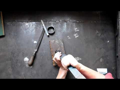Шабрение, основные понятия и приемы шабрения