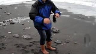 цунами на черном море видео