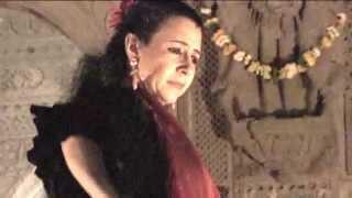 FLAMENCO NATYAM Rajika Puri - Indian love song to flamenco rhythm Aruna Sairam-David Serva