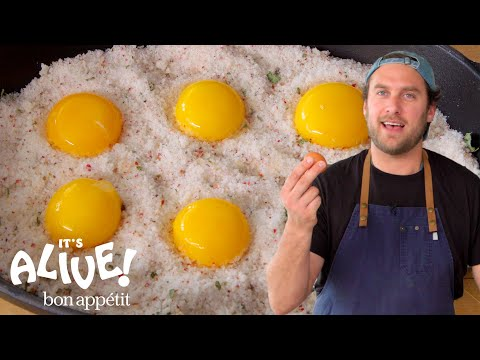 Brad Makes Cured Egg Yolks | It's Alive | Bon Apptit