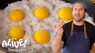 Download Brad Makes Cured Egg Yolks | It's Alive | Bon Appétit Mp3 and Videos