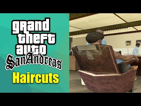 GTA San Andreas - All Haircuts