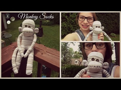 DIY  ~Monkey Socks / Singe Chaussette~