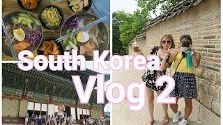 South Korea Vlog pt.2 | ChangDeokGung Palace Tour and Cold Noodles