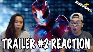 POWER RANGERS (2017) It's Morphin Time! Official Trailer #2 REACTION & REVIEW