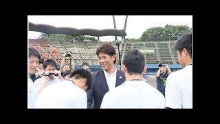 ✸侍ジャパン大学代表の直前合宿スタート 主将・辰己「雰囲気良く初日のまとまりとは思えない」