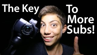 The #1 Secret To More Subscribers & Better Vlogs!