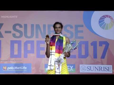 P.V.Sindhu v/s Carolina Marin India open final MATCH HIGHLIGHTS