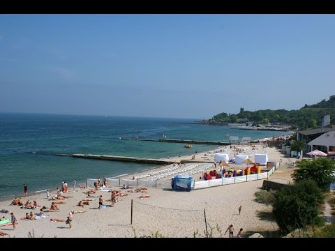 beautiful sea view in ukraine,odessa beach