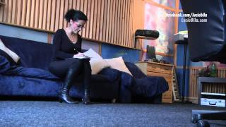 2011-03-25 Lucie Bila a Michal Hruza - studio LIDICE