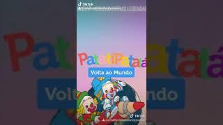 Patati Patatá - Menu do DVD (DVD Volta ao Mundo)