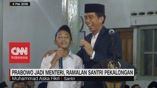 Prabowo Jadi Menteri,