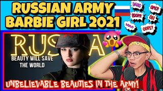 RUSSIAN ARMY BARBIE GIRL-RUSSIAN FEMALE SOLDIERS 2021
