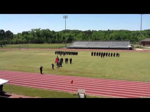Paul W. Bryant High School Marine JROTC Change of Command Parade