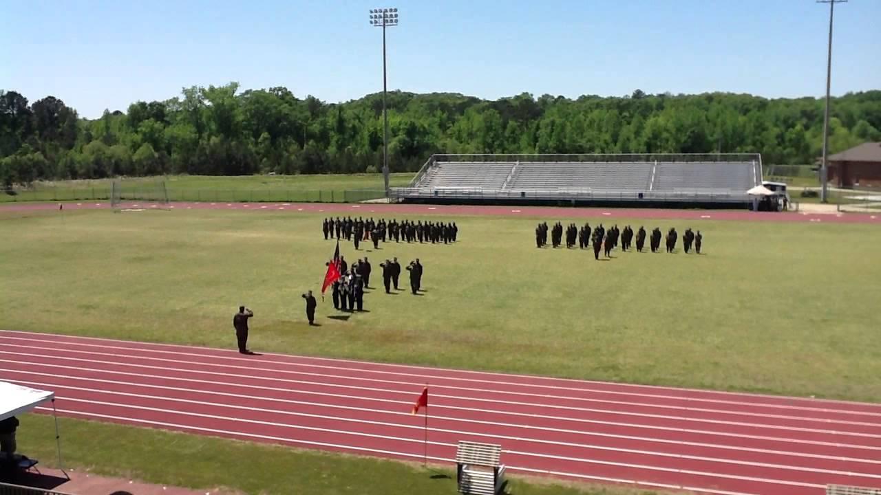 Paul W. Bryant High School Marine JROTC Change of Command ...