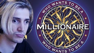 xQc Speedruns Who Wants to be a Millionaire