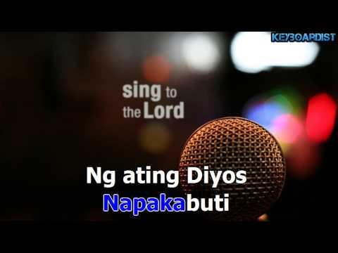 Napakabuti Ng Ating Diyos (Karaoke Instrumental)