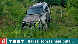 Land Rover DEFENDER 2020 First Edition - ENG SUB - offroad test - GARÁŽ TV