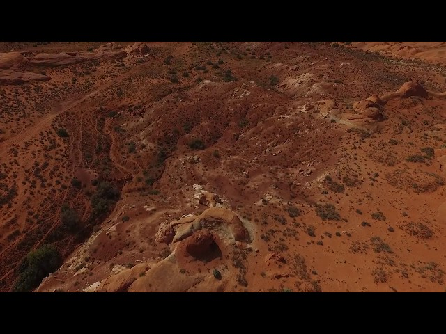 Butch Cassidy's Robbers Roost Flyover 1