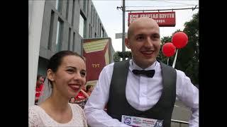АТБ марафон - 2018 в Днепре: молодожены бежали дистанцию наутро после свадьбы!
