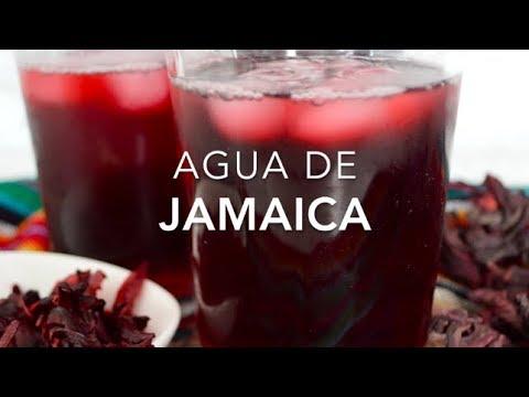 como preparar agua de jamaica sin azucar