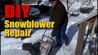 Craftsman Snow Blower Auger Repair