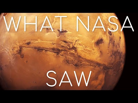 What did NASA's HiRise camera discover over Mars' giant scar? Valles Marineris 4K