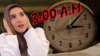 Que sucede realmente a las 3:00 A.M?