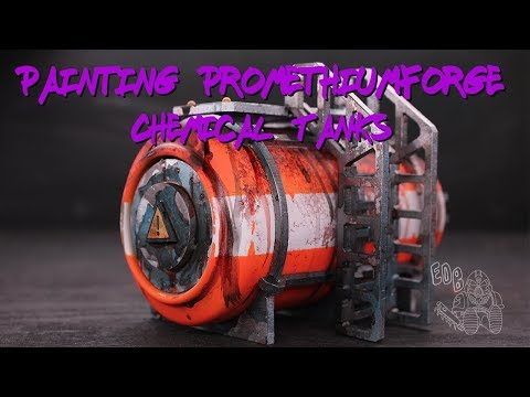 How to Paint a PromethiumForge Industrial Chemical Tank