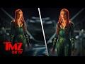 First Photos Of Amber Heard As Mera   TMZ TV