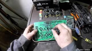 ремонт монтажного блока(прикуриватель) 2109 часть 3