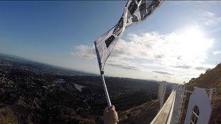 Repeat youtube video Climbing The Hollywood Sign! (Official Unreleased Footage)