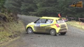 Suzuki Swift S1400 rally car Tom Walster 2015