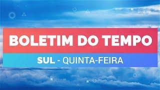 Previsão Sul – Condições para chuva em Florianópolis