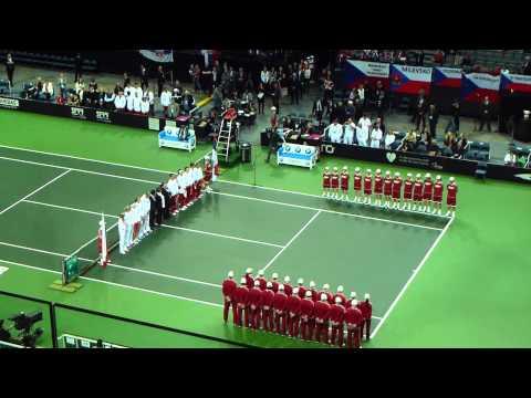 Fed Cup final 2012 Czech Republic - Serbia - 1.