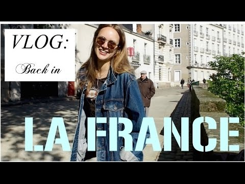 VLOG: Back in FRANCE: the city+ beaches + the countryside + HAUL
