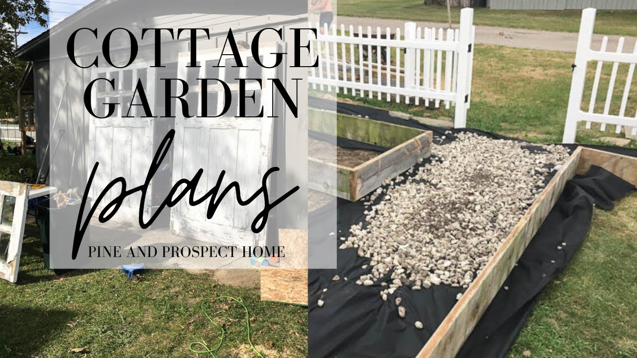 Backyard Tour And Cottage Garden Plans Youtube