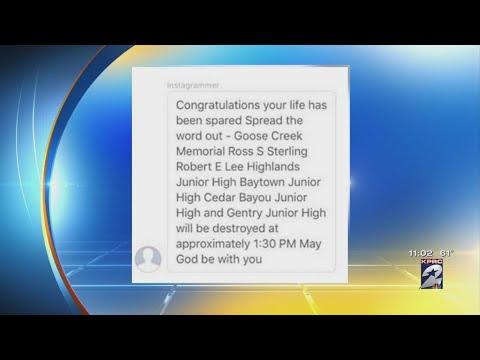 Threat against Goose Creek CISD received through social media