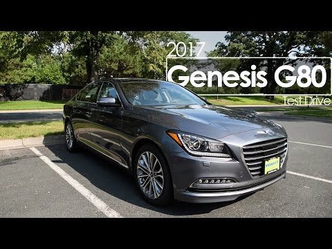 2017 Genesis G80 Review Test Drive