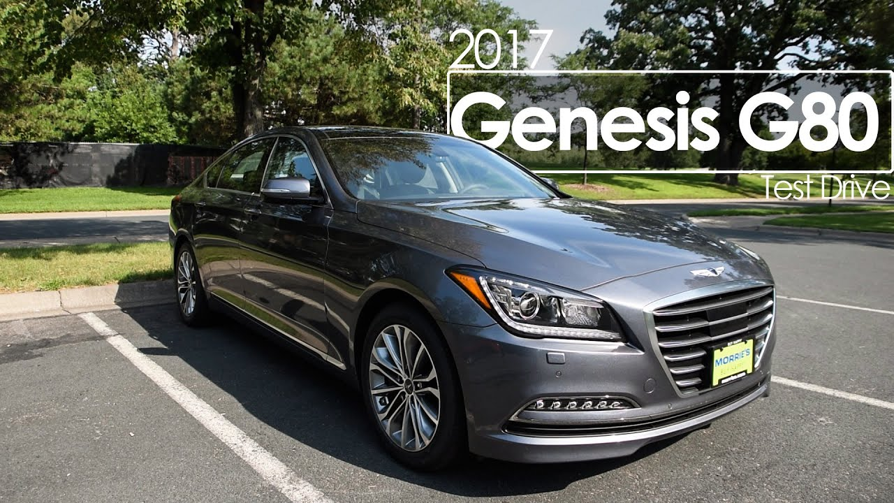 2017 genesis g80 review test drive youtube. Black Bedroom Furniture Sets. Home Design Ideas
