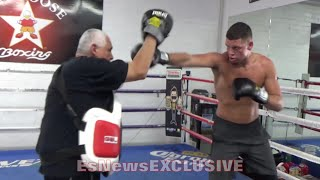 NATE DIAZ GOT MAD HANDS!! SHOWCASES WORLD CLASS BOXING TECHNIQUE & SKILL - EsNewsEXCLUSIVE