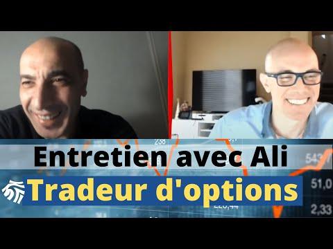 Entretien avec Ali, trader d'options